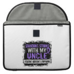 Standing Strong Uncle Hodgkins Lymphoma MacBook Pro Sleeve