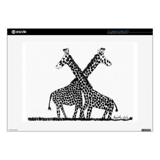 "Standing tall 15"" laptop skins"