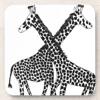Standing tall beverage coaster
