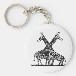 Standing tall keychain