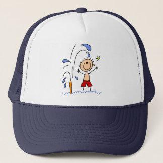 Standing Under The Sprinkler Hat