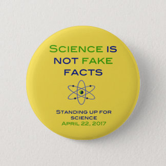 Standing up for Science Pinback Button
