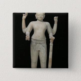 Standing Vishnu Pinback Button