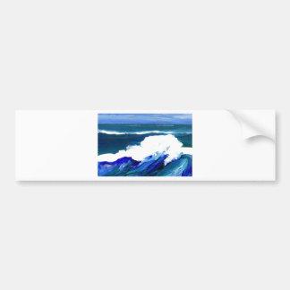 Standing Wave - CricketDiane Ocean Waves Bumper Sticker