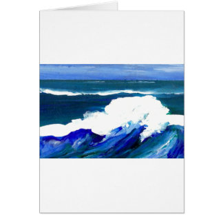 Standing Wave - CricketDiane Ocean Waves Card