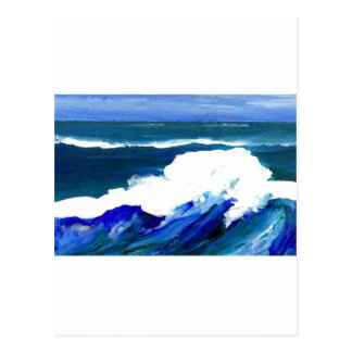 Standing Wave - CricketDiane Ocean Waves Postcard