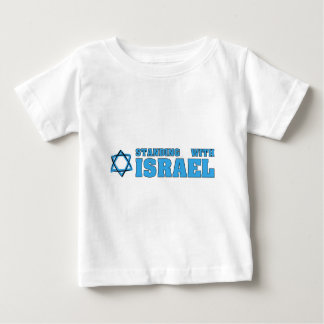 Standing With Israel Baby T-Shirt