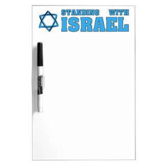 Standing With Israel Dry-Erase Whiteboards