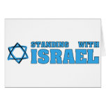 Standing With Israel Greeting Cards