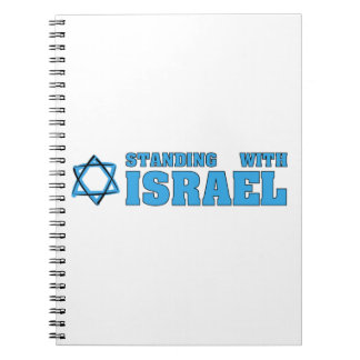 Standing With Israel Notebook