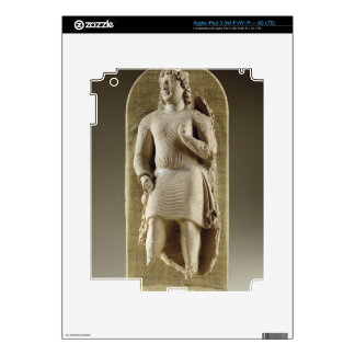 Standing youth or Maitreya, Gandhara (stucco) iPad 3 Skin
