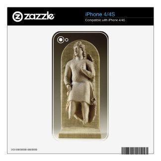 Standing youth or Maitreya, Gandhara (stucco) Skin For iPhone 4S