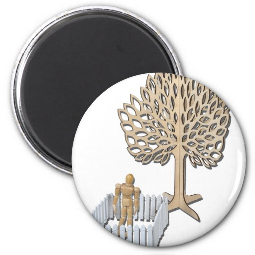 StandingEnclosedYardTree090312.png 2 Inch Round Magnet