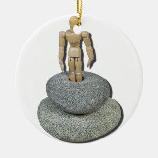 StandingInRut092512 copy.png Ceramic Ornament