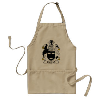 Standish Family Crest Adult Apron