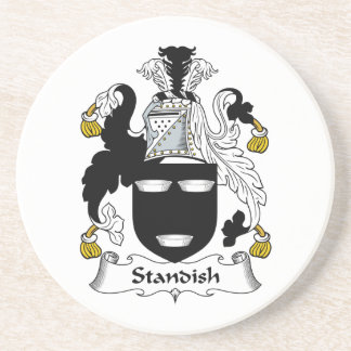 Standish Family Crest Drink Coaster