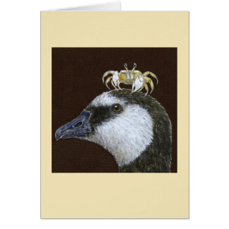 Standish the barnacle goose card