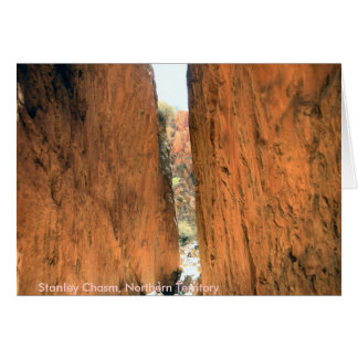 Standley chasm card