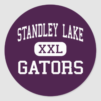 Standley Lake - Gators - High - Westminster Round Sticker