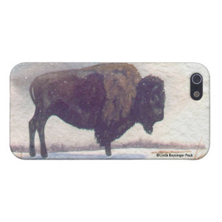 Stands Alone Buffalo Winter iPhone SE/5/5s Cover