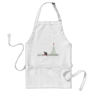 StandTwogether Winter Swag Adult Apron