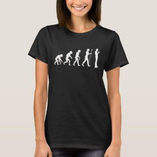 Standup Comedian Evolution T-Shirt