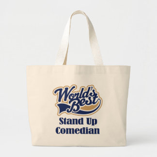 Standup Comedian Gift Large Tote Bag