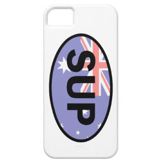 Standup Paddleboard Australia Flag iPhone SE/5/5s Case