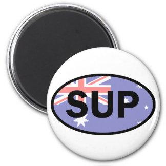 Standup Paddleboard Australia Flag Magnet