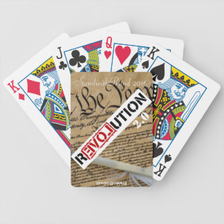 StandwithRand 2016 Bicycle Playing Cards