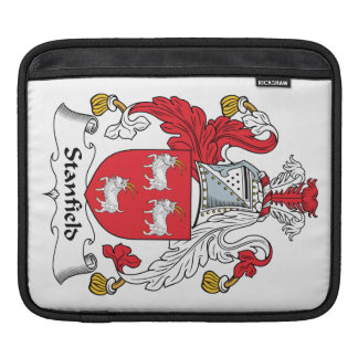 Stanfield Family Crest iPad Sleeve