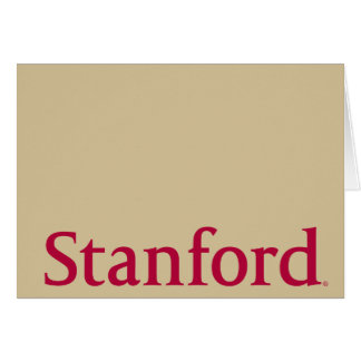Stanford Card