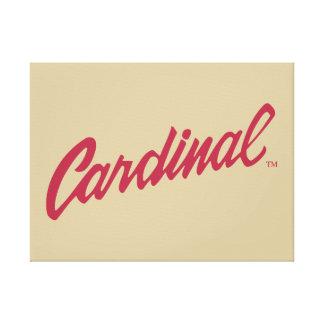 Stanford Cardinal Canvas Print