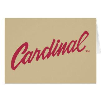 Stanford Cardinal Card