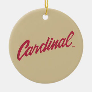 Stanford Cardinal Ornament