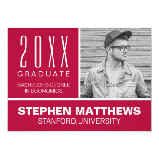 Stanford Graduation Announcement
