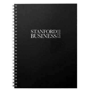 Stanford GSB - All-White Mark Spiral Notebook