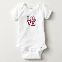 Stanford Love Baby Onesie