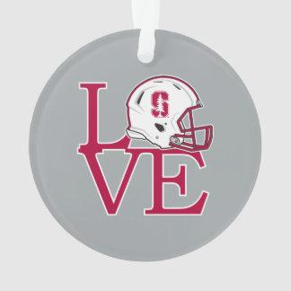 Stanford Love Ornament
