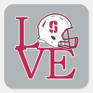 Stanford Love Square Sticker
