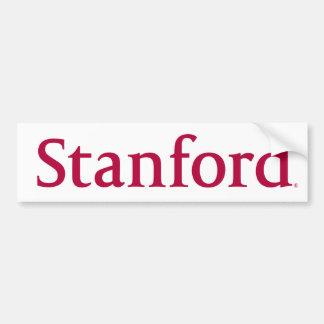 Stanford Name Car Bumper Sticker