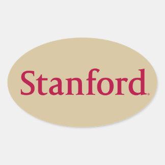 Stanford Oval Sticker