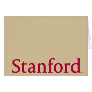 Stanford Tarjeta