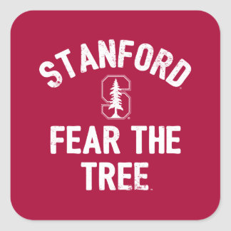 Stanford University | Fear The Stanford Tree Square Sticker