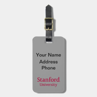 Stanford University Luggage Tag