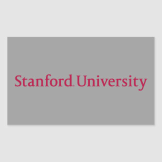 Stanford University Rectangular Sticker