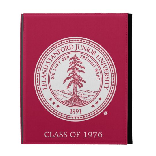 Stanford University Seal White Background iPad Case