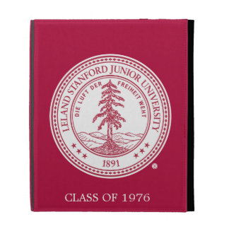 Stanford University Seal White Background iPad Folio Covers