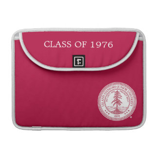 Stanford University Seal White Background Sleeves For MacBooks