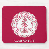 Stanford University Seal White Background Mouse Pad